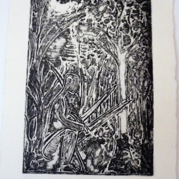 Print from Copper Plate - series 2 of 4