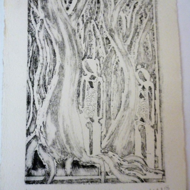 Print from Copper Plate - series 4 of 4