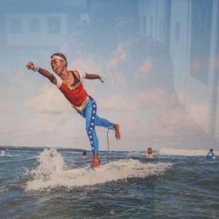 Surfing Super Hero