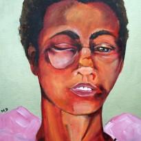 TABU Portrait of a Raped and Beaten Woman.